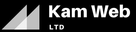 Kam web agency Logo (white)