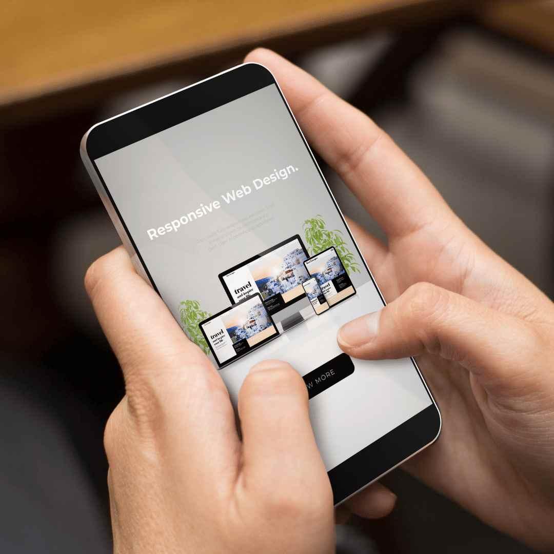 Mobile & responsive website