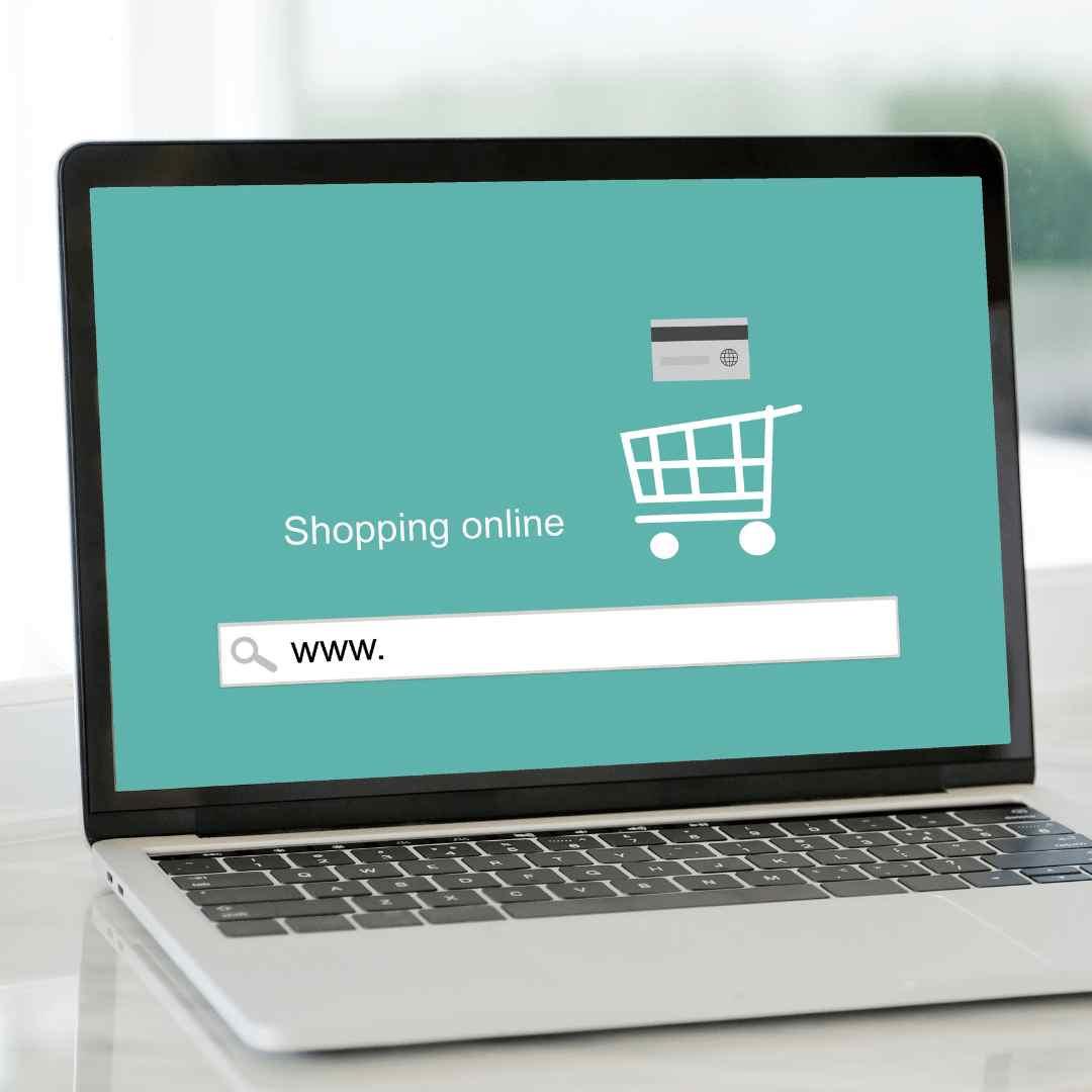 Online sales illustration