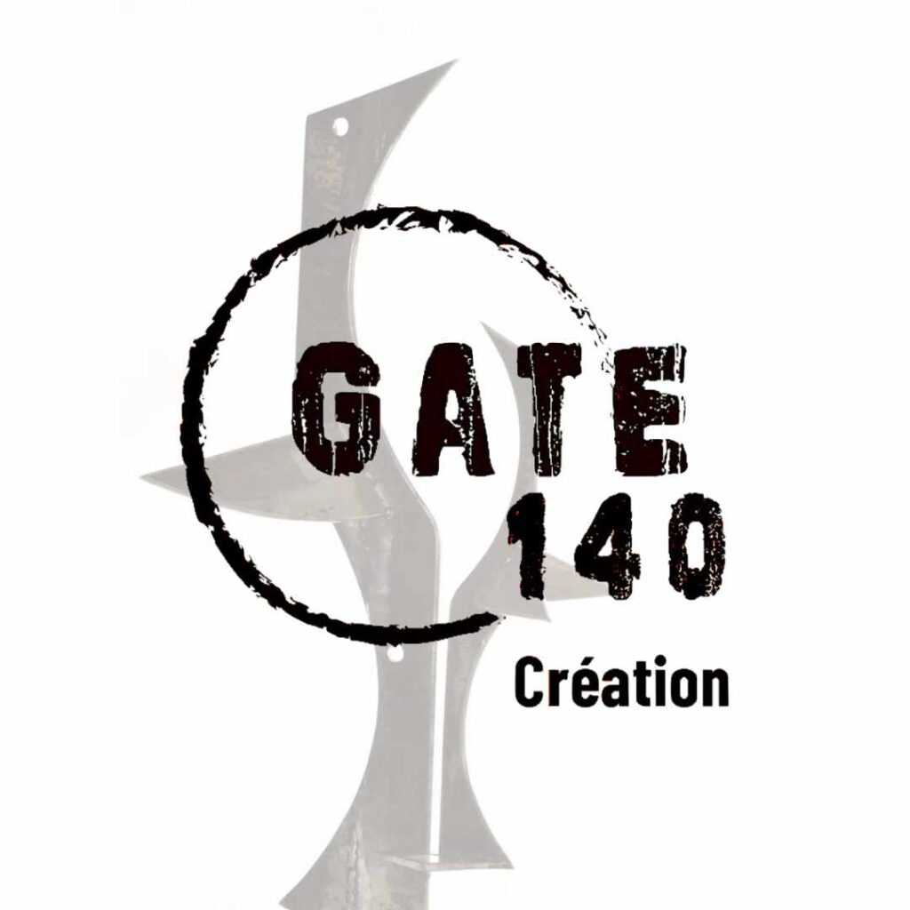 Picture and logo of our client Gate 140 création